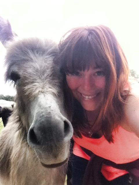 me and donkey